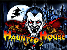 Играть в аппарат Haunted House